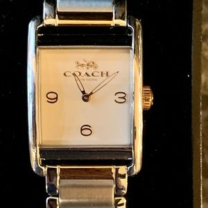 Ladies Gold and Silver Coach Watch